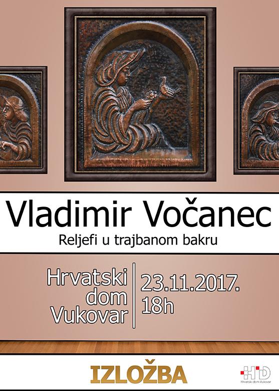 LokalnaHrvatska.hr Vukovar VLADIMIR VOcANEC: RELJEFI U TRAJBANOM BAKRU