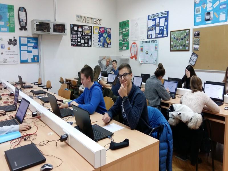 LokalnaHrvatska.hr Vukovar Ucenici Gimnazije Vukovar uspjesno savladali izazov Medunarodnog online natjecanja Dabar