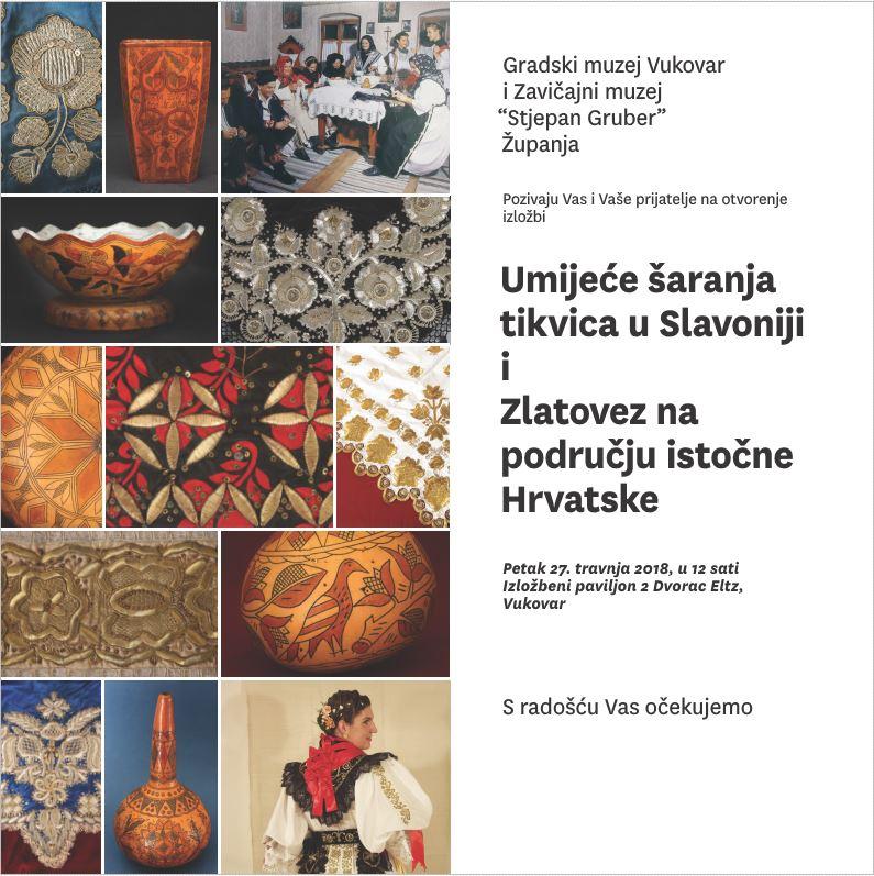 LokalnaHrvatska.hr Vukovar UMIJEcE sARANJA TIKVICA U SLAVONIJI i ZLATOVEZ NA PODRUcJU ISTOcNE HRVATSKE