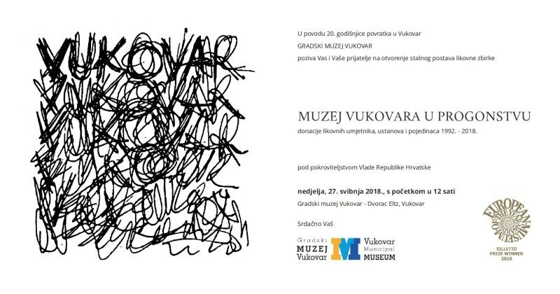 LokalnaHrvatska.hr Vukovar Poziv na otvorenje stalnog postava MUZEJ VUKOVARA U PROGONSTVU