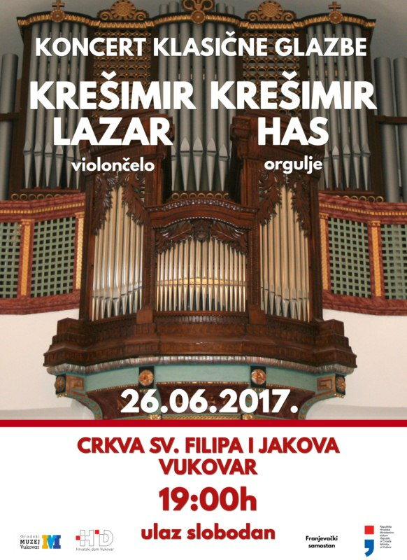 LokalnaHrvatska.hr Vukovar Koncert klasicne glazbe u kapelici sv. Roka