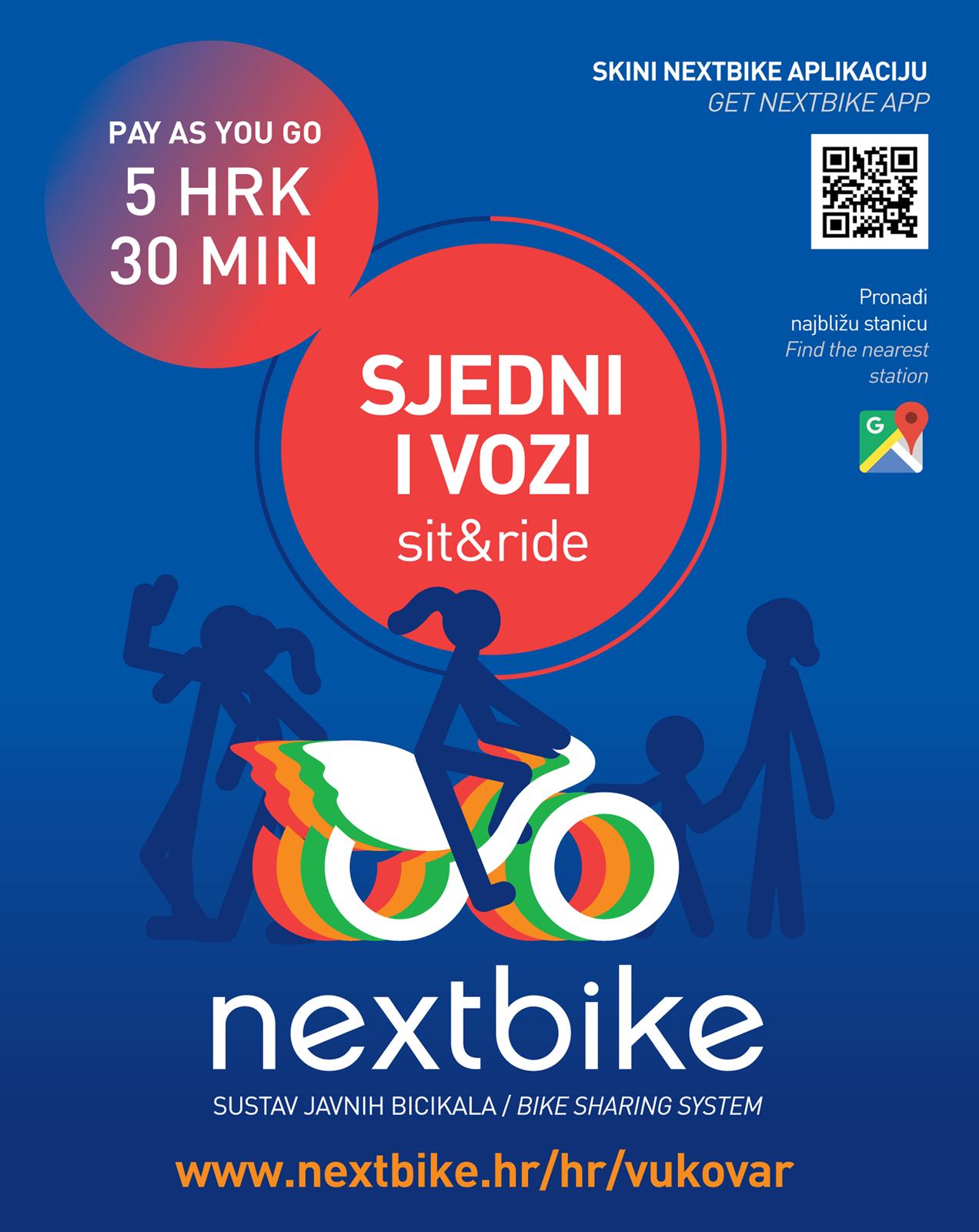 LokalnaHrvatska.hr Vukovar Sustav javnih bicikala Nextbike